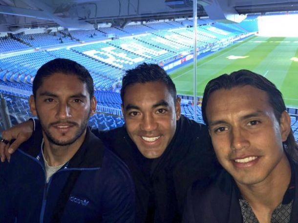 Jugadores de la máquina visitaron el Santiago Bernabéu