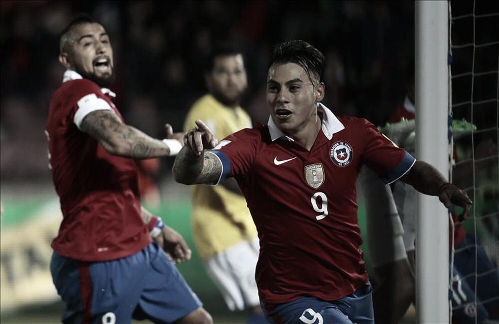 """Eduardo Vargas: """"Estamos confiados en hacer un buen partido y llevarnos la victoria"""""""