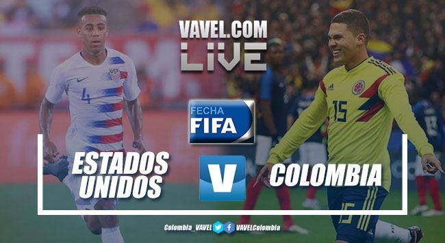 Colombia ganó, goleó y gustó frente a Estados Unidos (2-4)