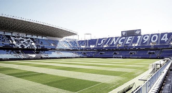 El Málaga CF podrá acoger un 40%