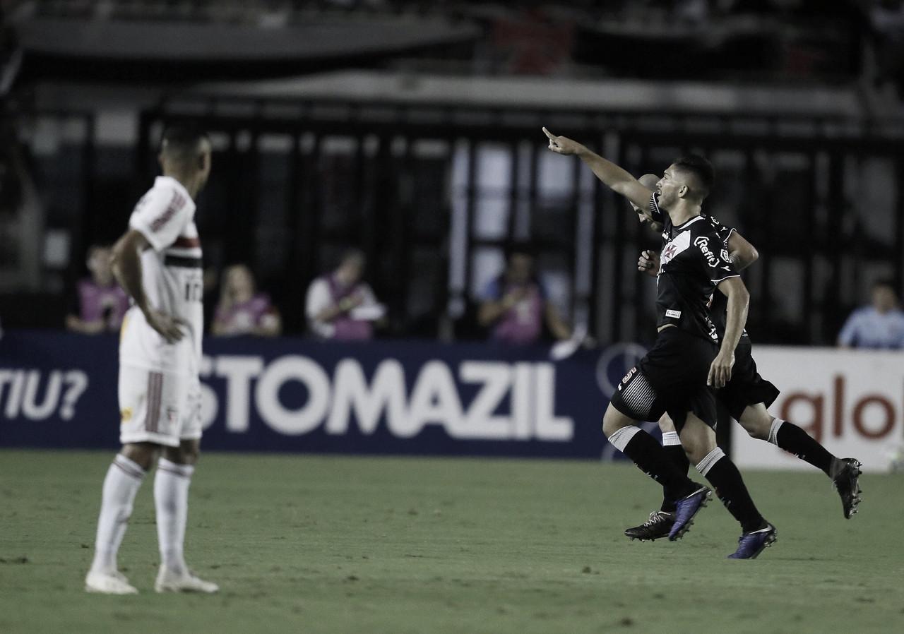 Vasco vence São Paulo em São Januário lotado e respira na luta contra o rebaixamento