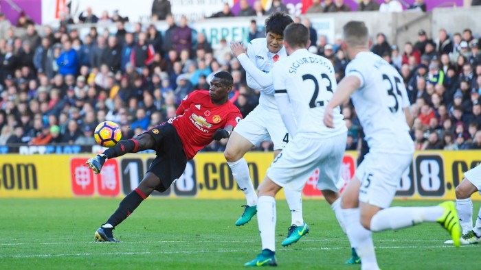Swansea 1-3 Manchester United: Ibrahimovic returns to form as United sweep aside Swans