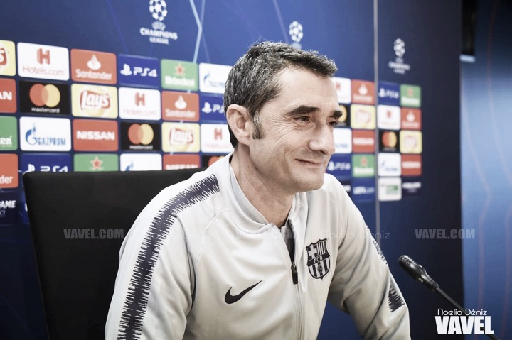 Las declaraciones de Ernesto Valverde y Gerard Piqué en la previa del partido de ida de los cuartos de final de la UEFA Champions League
