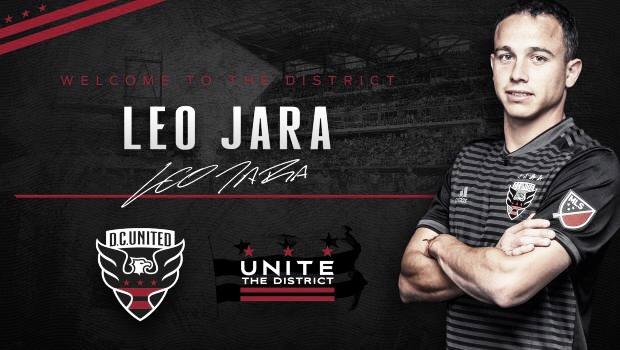Leonardo Jara refuerza a DC United