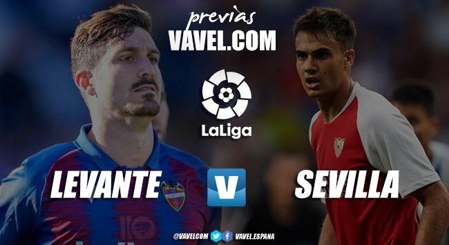 Previa Levante - Sevilla: Un examen para las aspiraciones de ambos conjuntos