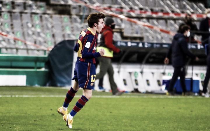 Riqui Puig hace finalista de la Supercopa de España al Barcelona de Koeman