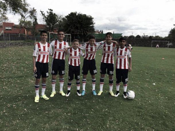 Inicia Chivas con pie derecho en el Torneo de Invierno Sub-15