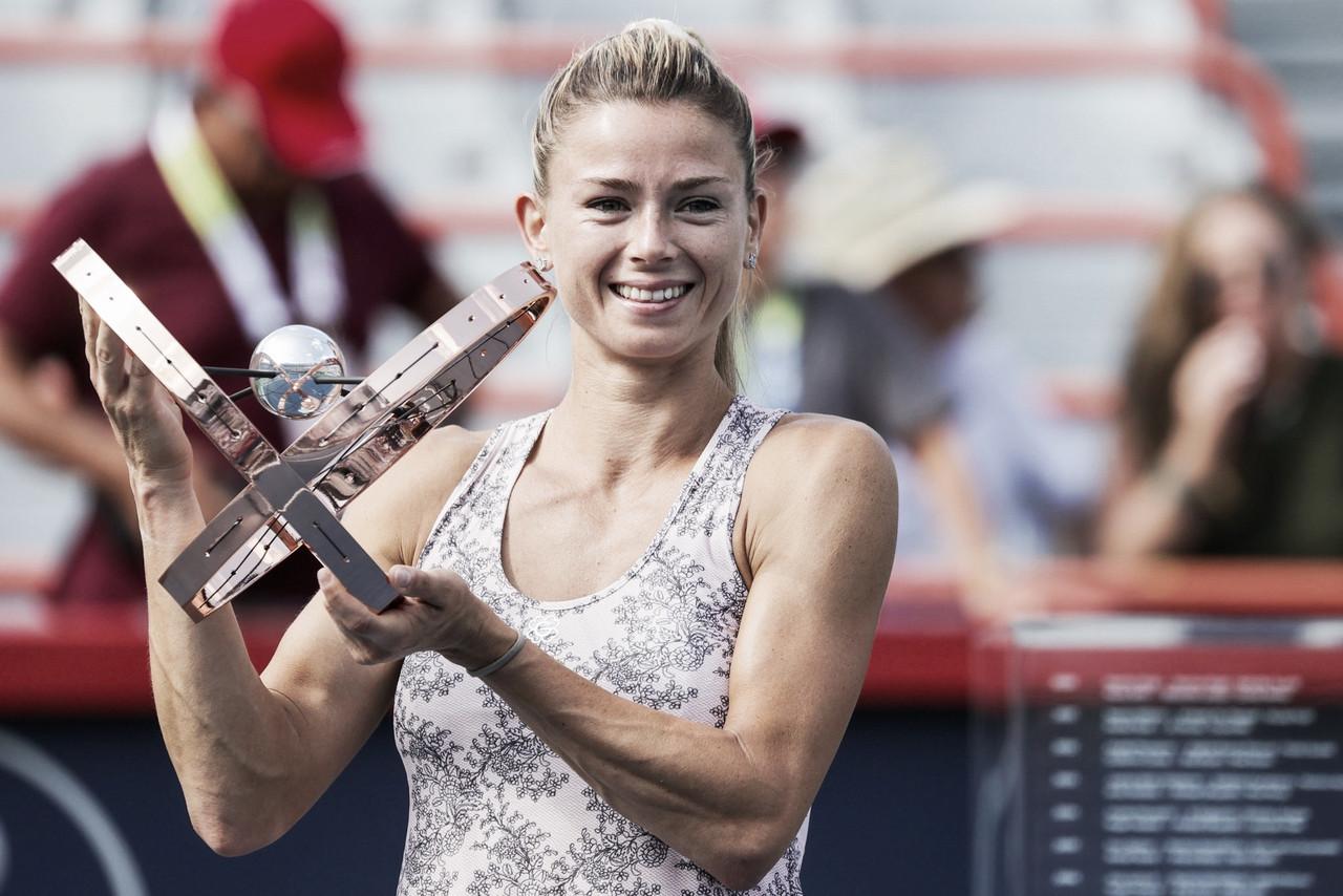 Giorgi bate Pliskova pela terceira vez no ano e conquista maior título da carreira em Montreal