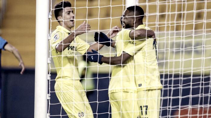 Villarreal CF - SD Ponferradina: puntuaciones Villarreal 1/16 Copa del Rey