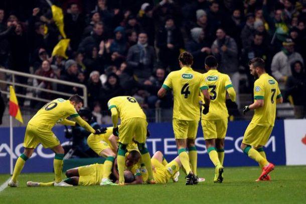 Coupe de France: Nantes 3 - 2 Lyon