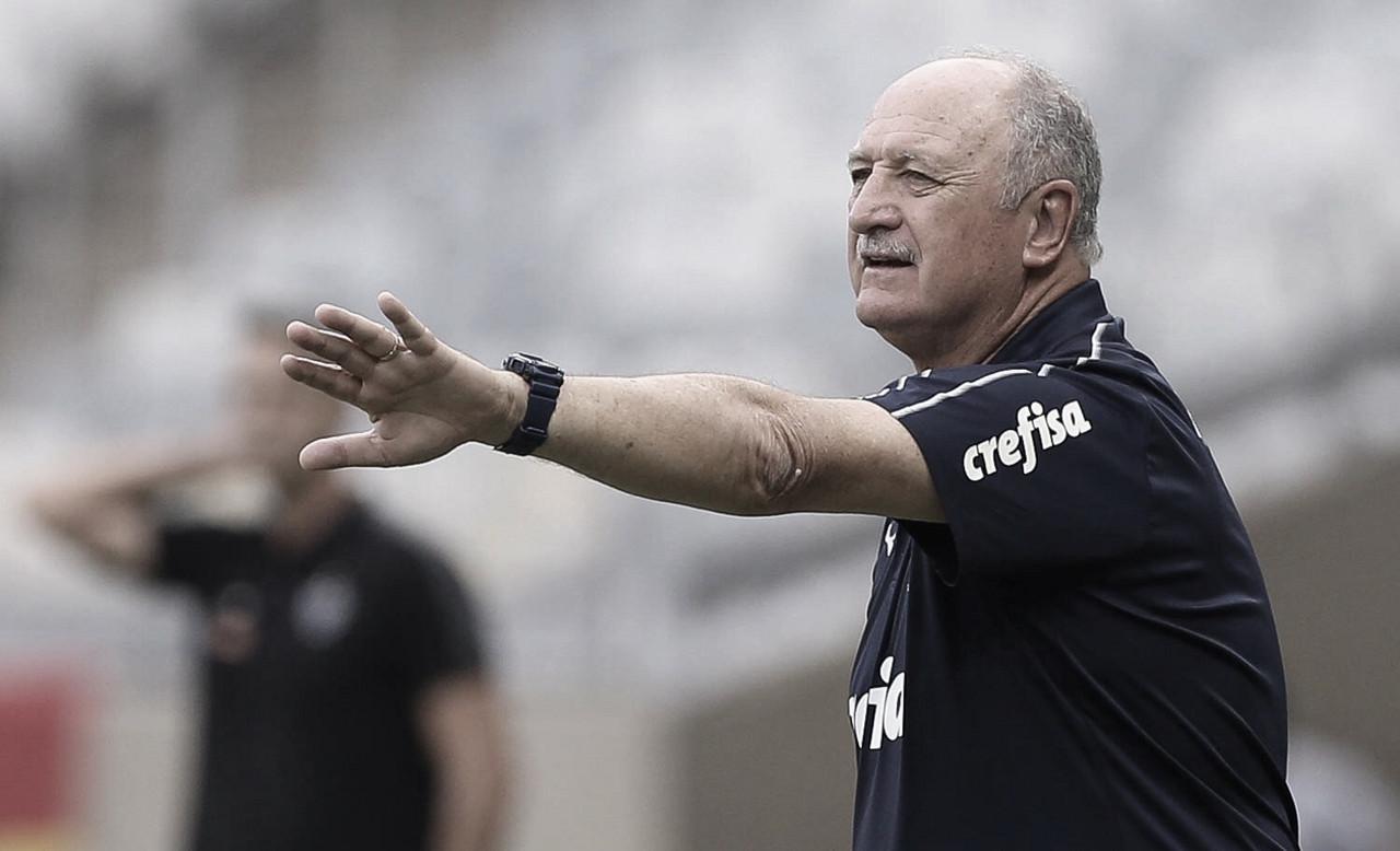 """Felipão enaltece crescimento do Palmeiras: """"Jogando de forma organizada"""""""