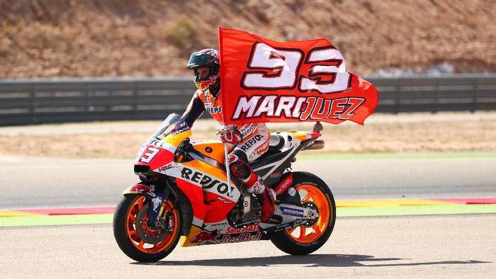 Strategi Marc Marquez Mengunci Gelar Juara Dunia di Motegi