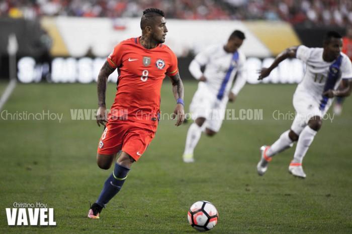 Images and Photos of Chile 4-2 Panama in Copa America Centenario 2016