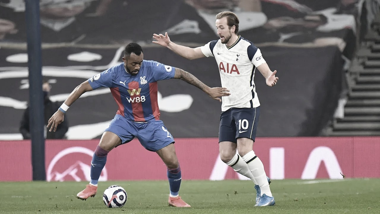 Gols e melhores momentos Crystal Palace x Tottenham pela Premier League (3-0)