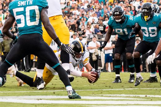 Pittsburgh Steelers snatch the win against Jacksonville Jaguars