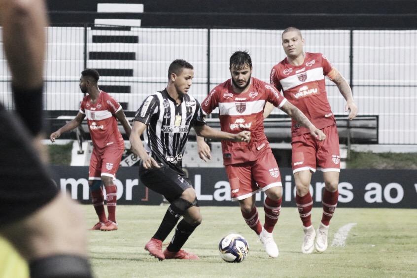 Resultado de CRB x Botafogo-PB pela Copa do Nordeste (0-0)