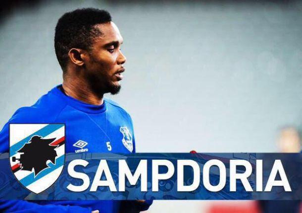 Eto'o : Objectif Ligue des Champions avec la Sampdoria