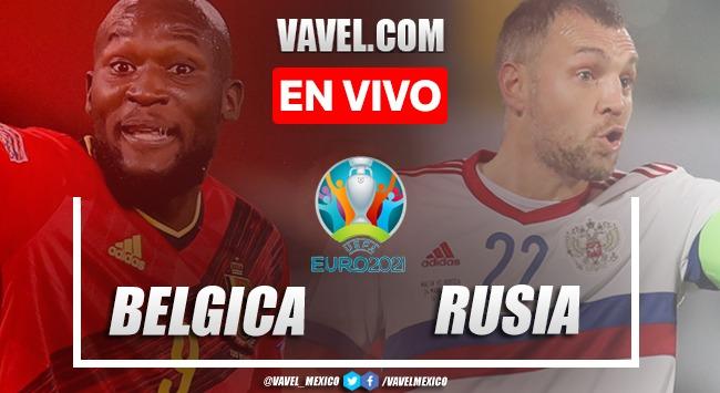 Resumen y goles: Bélgica 3-0 Rusia en Fase de Grupos de la Euro 2020