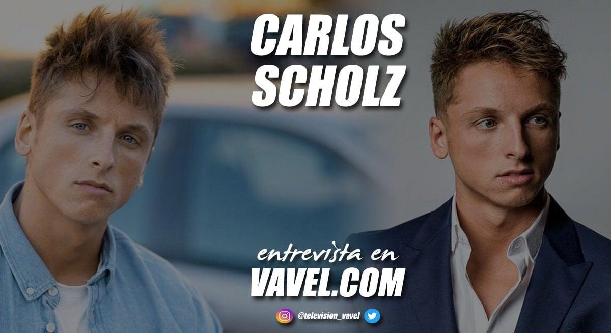 """Entrevista. Carlos Scholz: """"Cuando me pongo delante de una cámara o me subo a un escenario, me olvido de todo"""""""