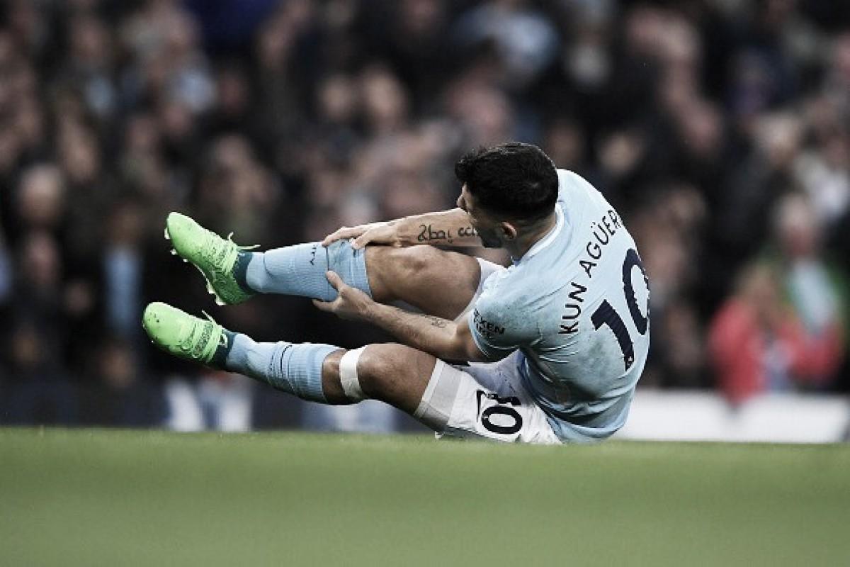 Agüero passa por artroscopia e está fora do final da temporada do City, mas deve jogar Copa