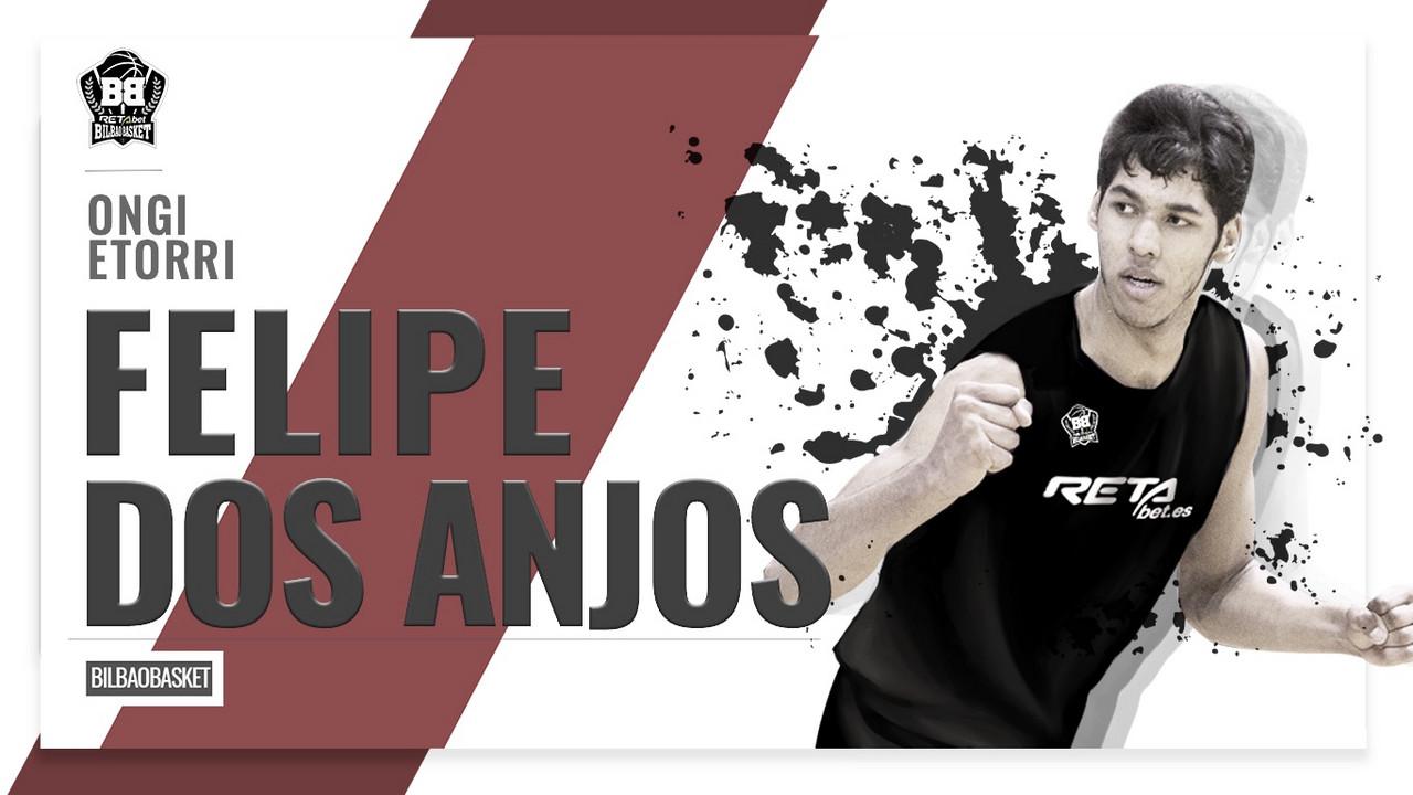 Felipe Dos Anjos, juventud y centímetros para la pintura de Bilbao Basket