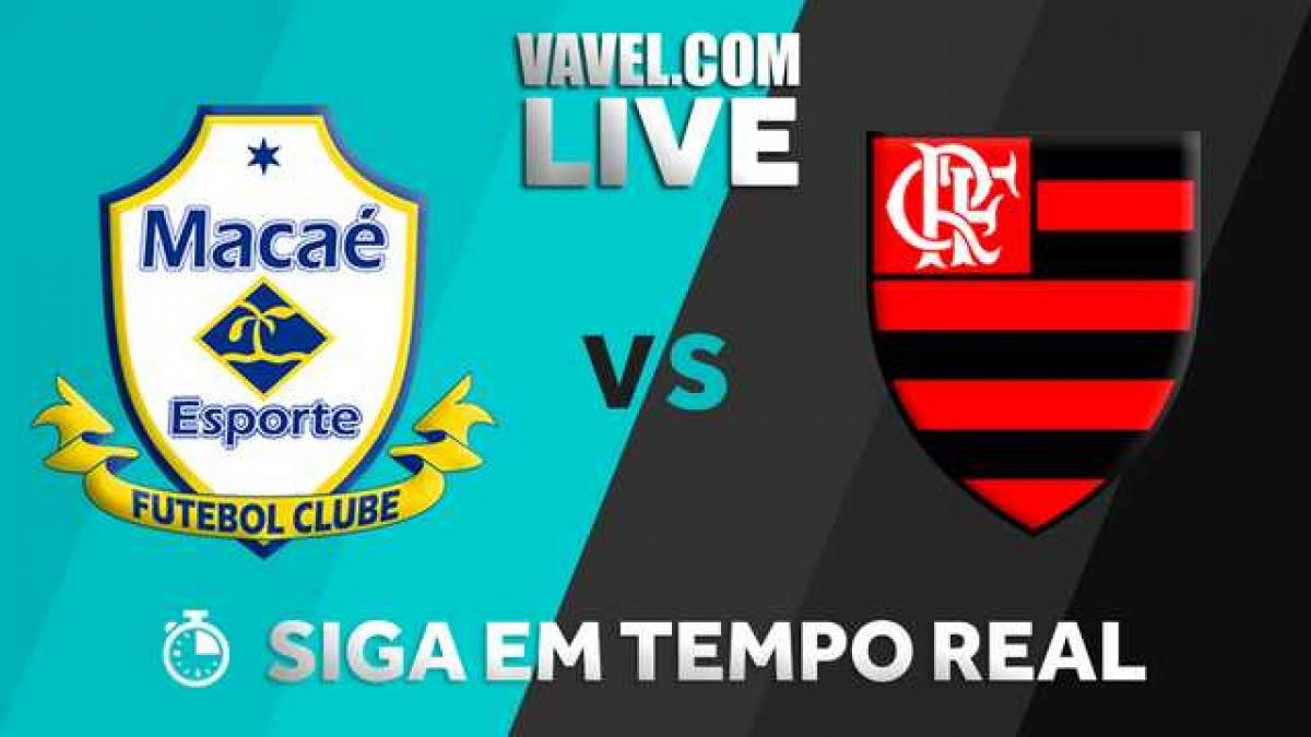 Resultado Macaé 1x0 Flamengo no Campeonato Carioca 2018