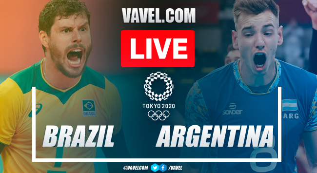 Highlights: Brazil 2-3 Argentina in Men's Volleyball Bronze Medal Olympic Games 2020