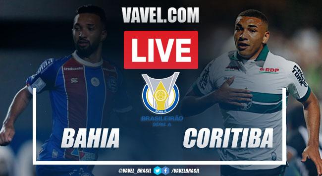 Bahia x Coritiba AO VIVO: jogo online pelo Campeonato Brasileiro 2020
