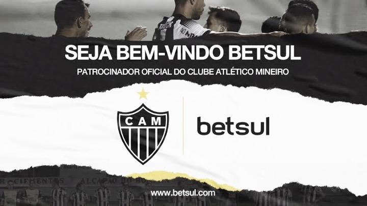Site de apostas é o novo patrocinador do Atlético-MG