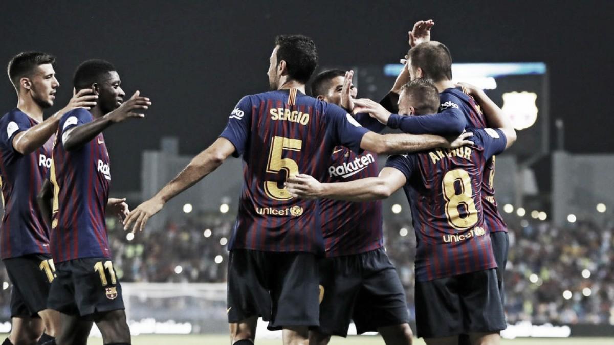 Ter Stegen defende pênalti no fim, Barcelona bate Sevilla e conquista 13ª Supercopa da Espanha