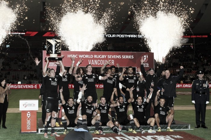 New Zealand win inaugural Vancouver Sevens title after upsetting South Africa in final
