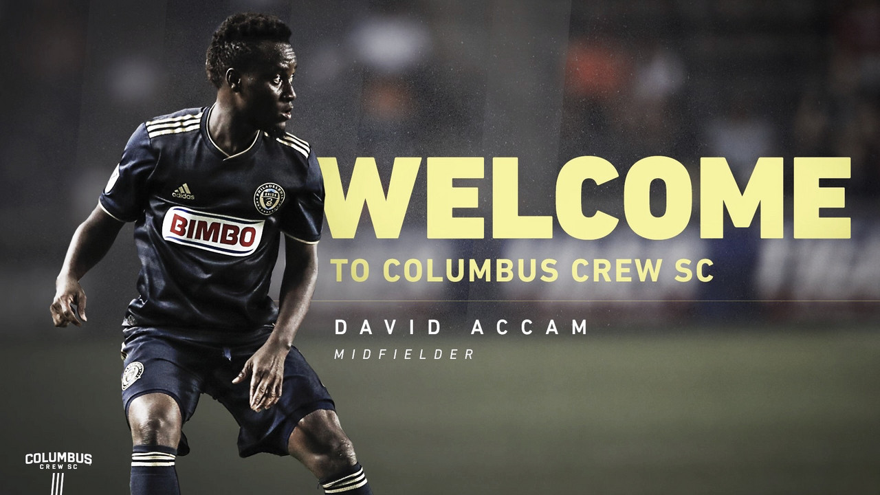 David Accam firma por Columbus Crew SC