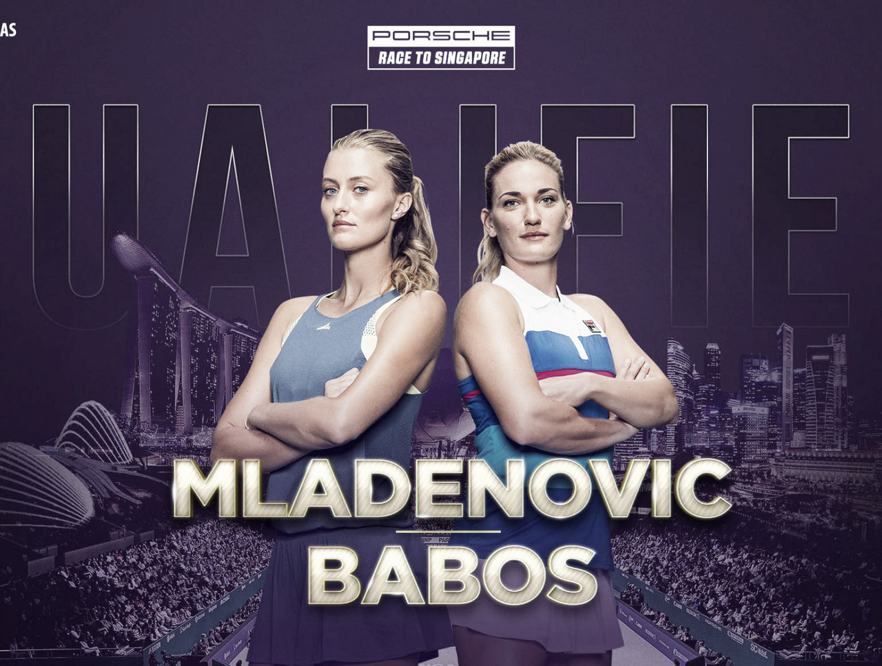 Timea Babos and Kristina Mladenovic qualify for WTA Finals