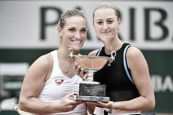 Babos/Mladenovic superam Duan/Zheng e ficam com título em Roland Garros