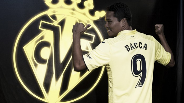 Contestado no Milan, atacante Bacca é oficializado no Villarreal