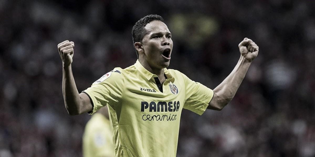 El Villarreal necesita los goles de Bacca