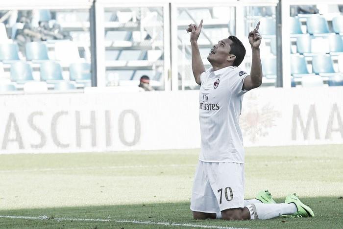 Sassuolo-Milan, in mezzo alle polemiche due dati di fatto: tre punti e il ritorno al gol di Bacca