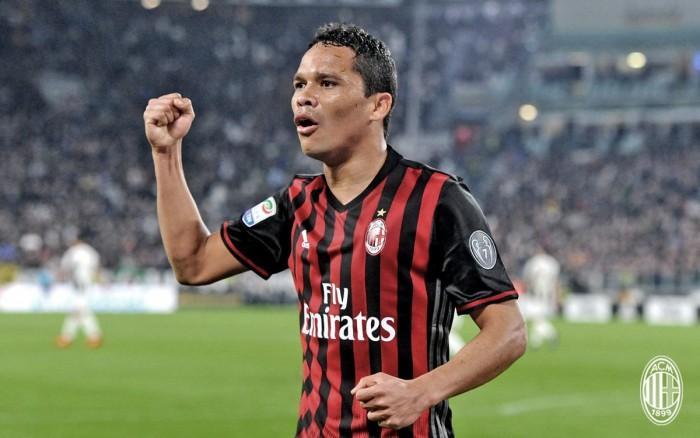 Milan, trattativa in corso con il Villarreal per Carlos Bacca per un prestito con obbligo di riscatto