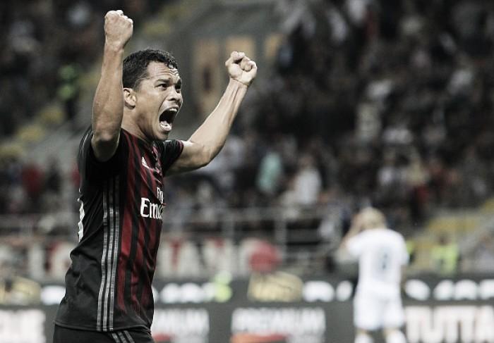 Bacca marca, Milan bate Lazio e mantém tabu de 26 anos