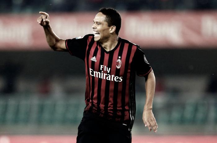 Il Milan apre l'anno con i tre punti e con un Bacca ritrovato: Cagliari KO (1-0)