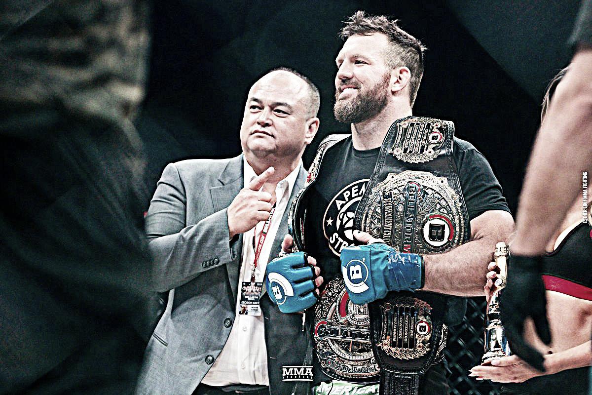 Bader está enfocado en Bellator MMA