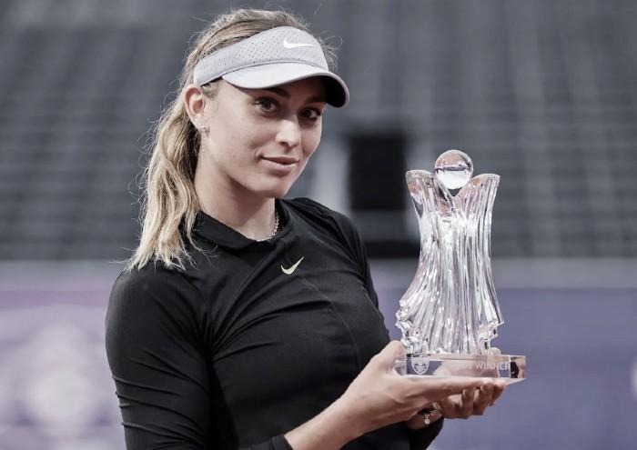 Paula Badosa logra su primer título en Belgrado
