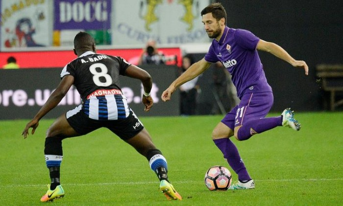 Doppio botta e risposta, è 2-2 fra Udinese e Fiorentina