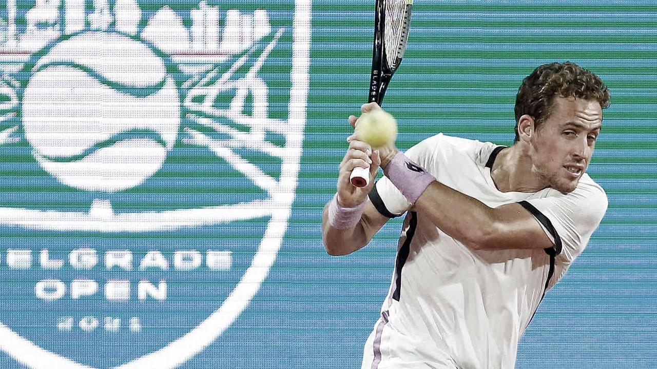 Carballés Baena surpreende e elimina Monfils do ATP 250 de Belgrado 2