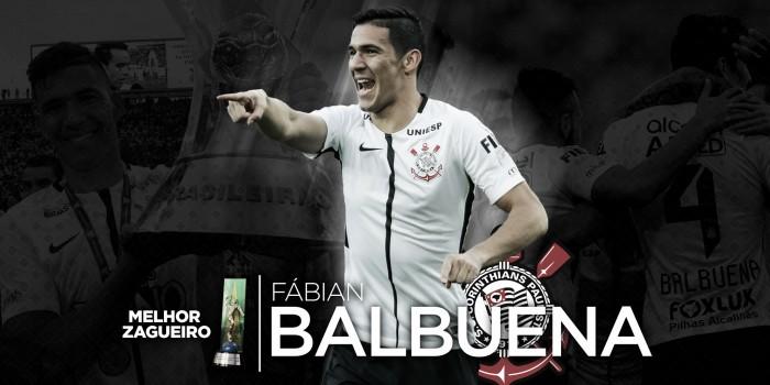 Campeão com Corinthians, zagueiro Balbuena é eleito para Seleção do Brasileirão