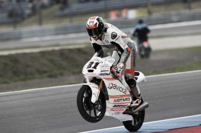 Bagnaia makes history claiming his first Moto3 win at Assen TT