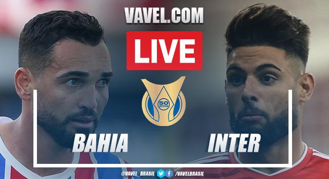 Gols e melhores momentos Bahia x Inter pelo Campeonato Brasileiro (0-1)