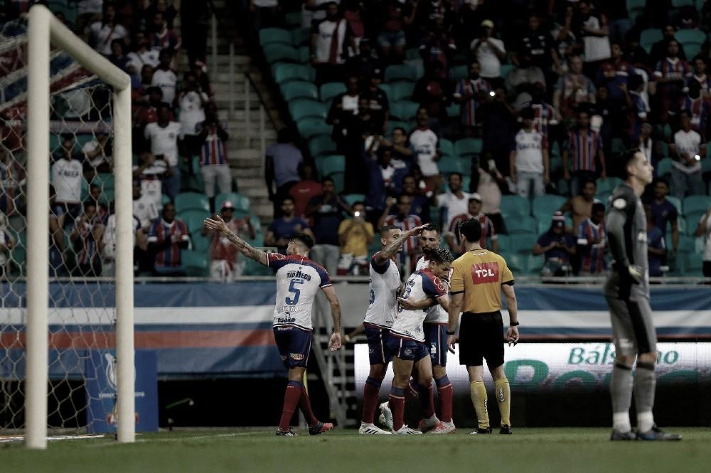 Bahia domina, derrota Botafogo e cola no G-6