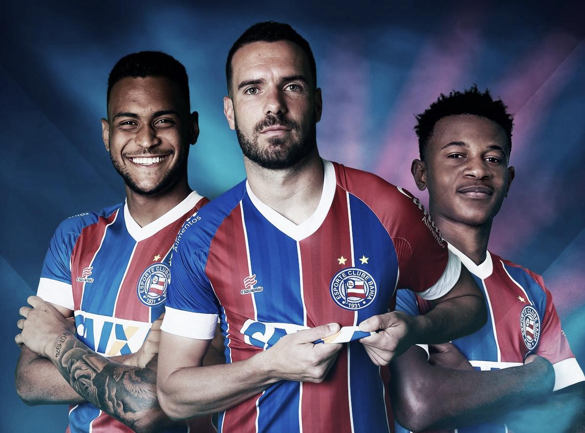 Com marca própria, Bahia lança novos uniformes para a temporada 2018-19