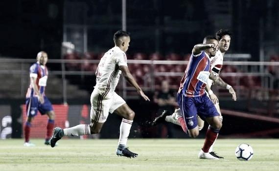 Bahia joga bem, vence São Paulo no Morumbi e tem vantagem para volta na Copa do Brasil